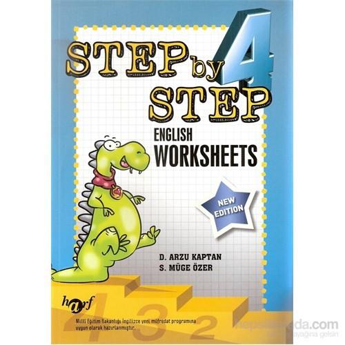 Harf Step By Step 4.Sınıf English Worksheets
