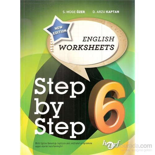 Harf Step By Step 6.Sınıf English Worksheets-S. Müge Özer