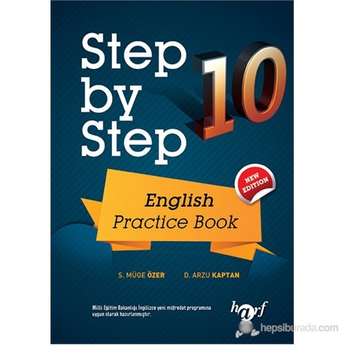 Lise 10. Sınıf Step by Step English Practice Book