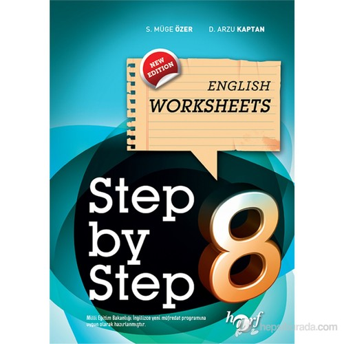 Ortaokul 8. Sınıf Step By Step English Worksheets-Arzu Kaptan