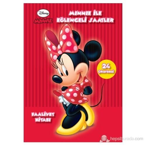 Minnie İle Eğlenceli Saatler - (6 Yaş Ve Üzeri Faliyet Kitabı)-Kolektif