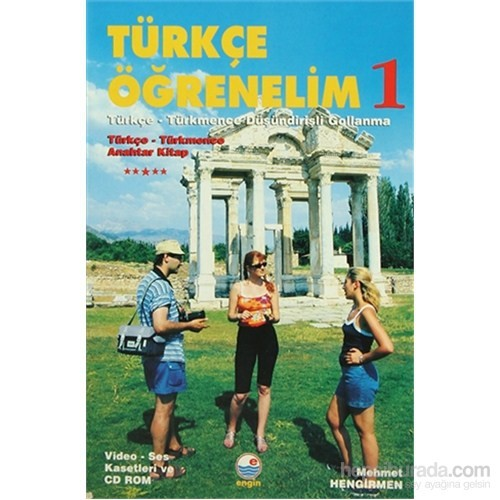 Türkçe Öğrenelim 1: Türkçe - Türkmence - Türkçe - Türkmence Düşündirişli Gollanma