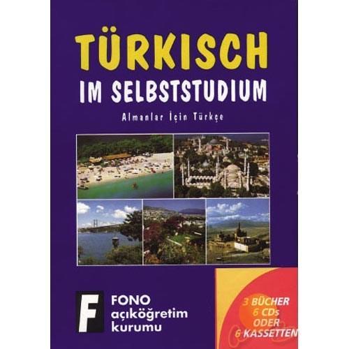 Fono Almanlar İçin Türkçe Seti (3 Kitap + 6 Cd)
