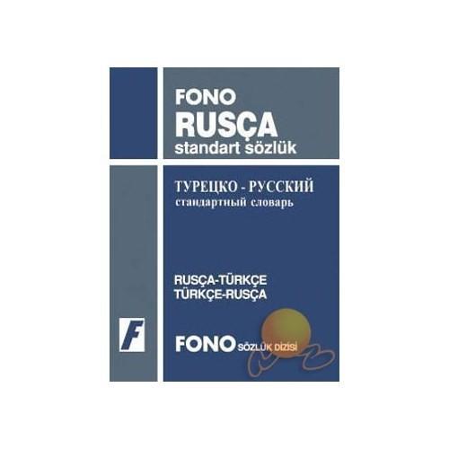Fono Rusça / Türkçe - Türkçe / Rusça Standart Sözlük