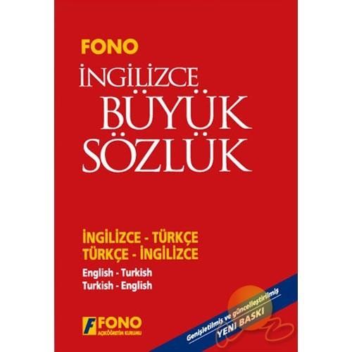 Fono İngilizce / Türkçe - Türkçe / İngilizce Büyük Sözlü