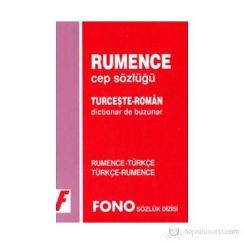 Rumence Cep Sözlüğü Rumence - Türkçe-Birsen Çankaya