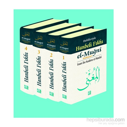 Delilleriyle Hanbeli Fıkhı El-Muğni Muhtasarı (4 Cilt Takım) - İbn Kudame El-Makdisi