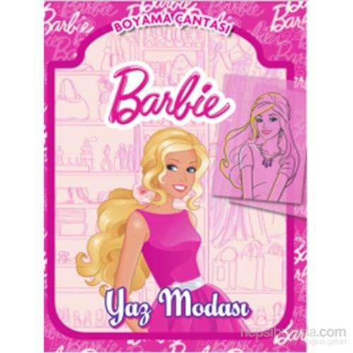 Barbie Yaz Modası Boyama Çantası