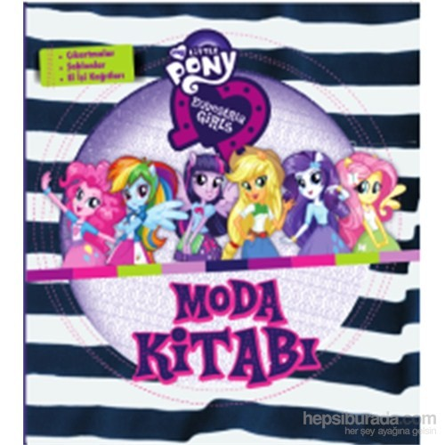 Equestria Girls Moda Kitabı