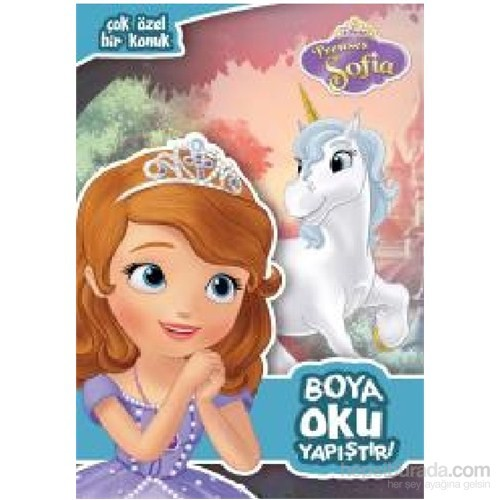 Disney Prenses Sofia Boya Oku Yapistir Kolektif Fiyati