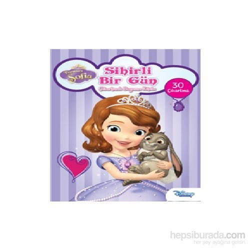 Disney Prenses Sofia Sihirli Bir Gun Cikartmali Boyama Fiyati