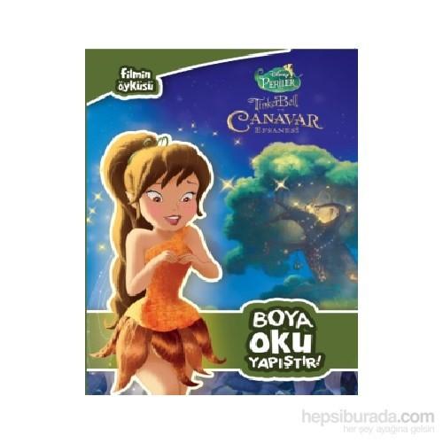Disney Tinkerbell Filmin Öyküsü Boya Oku Yapıştır