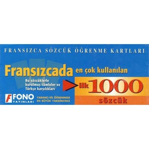 FONO FRANSIZCADA EN ÇOK KULLANILAN İLK 1000 SÖZCÜK