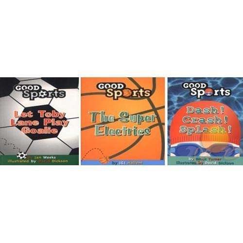 Good Sports Set - 3 Kitap
