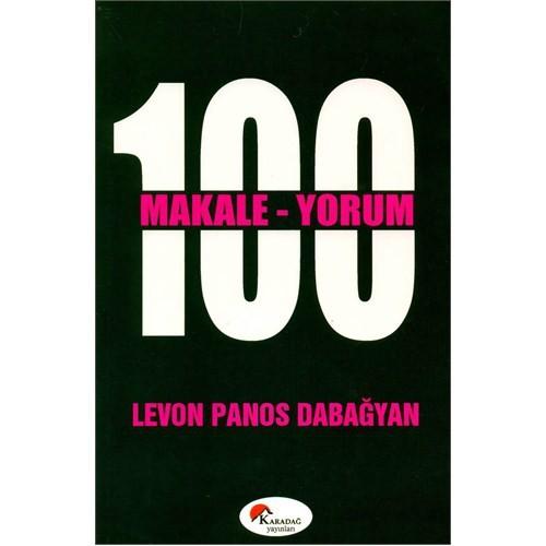 100 Makale 100 Yorum