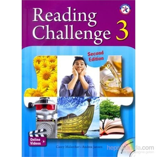 Reading Challenge 3 +Cd (2Nd Edition)-Casey Malarcher