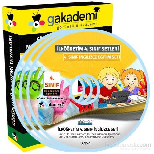 İlköğretim 4. Sınıf İngilizce Görüntülü Eğitim Seti 6 DVD