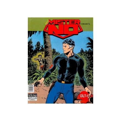 Mister No Cilt-1 İntikam Yolu Kızılderili Savaşçı Acımasızca Ölüm Mührü-Luigi Mignacco