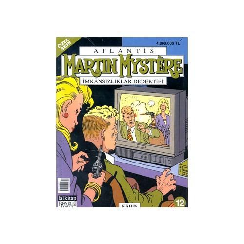 Martin Mystere Atlantis İmkansızlıklar Dedektifi Kahin Sayı:12