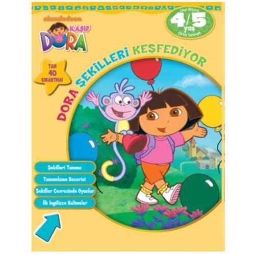 Dora Şekilleri Keşfediyor (4-5 Yaş)