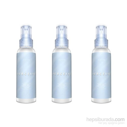 Avon Perceive Body Mist Vücut Spreyi 3Lü Set