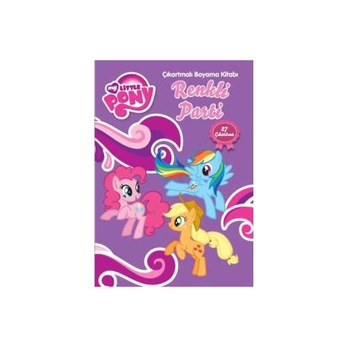 My Little Pony Renkli Parti Çıkartmalı Boyama