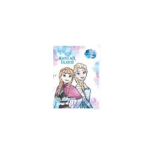 Disney Karlar Ülkesi Sihirli Sulu Boya Kitabı