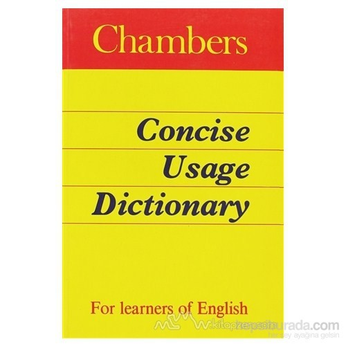 Chambers Concise Usage Dictionary