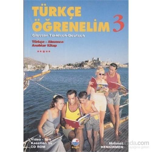 Türkçe Öğrenelim 3 Türkçe - Almanca - VCD Ayrıca satılmaktadır.