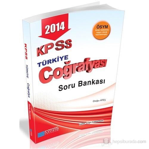 Evrensel İletişim KPSS 2014 Türkiye Coğrafyası Soru Bankası