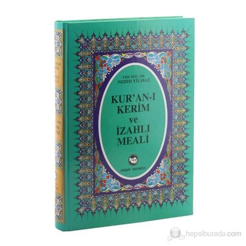 Kur'an-ı Kerim ve İzahlı Meali (Rahle Boy, Renkli)