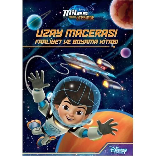 Disney Uzay Macerası Faaliyet Ve Boyama Kitabı