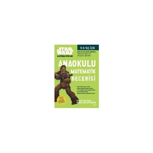 Starwars Alıştırma Kitapları: Anaokulu Matematik Becerisi-Kolektif