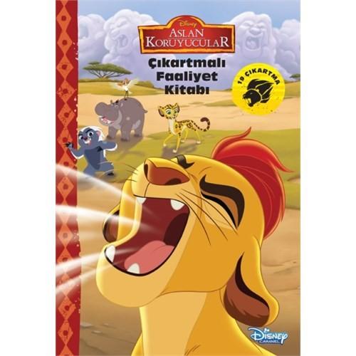 Disney Aslan Koruyucular Çıkartmalı Faaliyet Kitabı