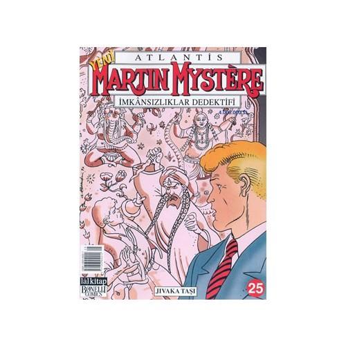 Martin Mystere İmkansızlıklar Dedektifi Jıvaka Taşı Sayı: 25