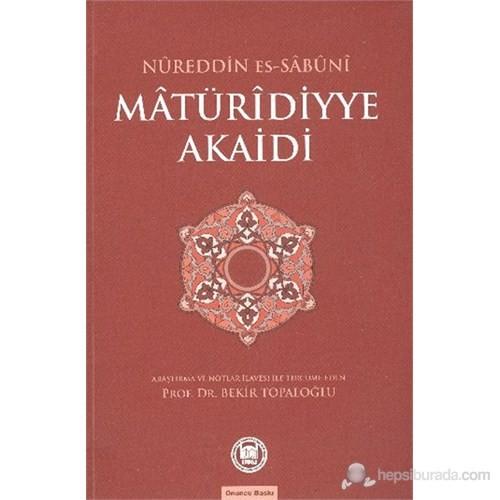 Matüridiyye Akaidi-Nureddin Es Sabuni