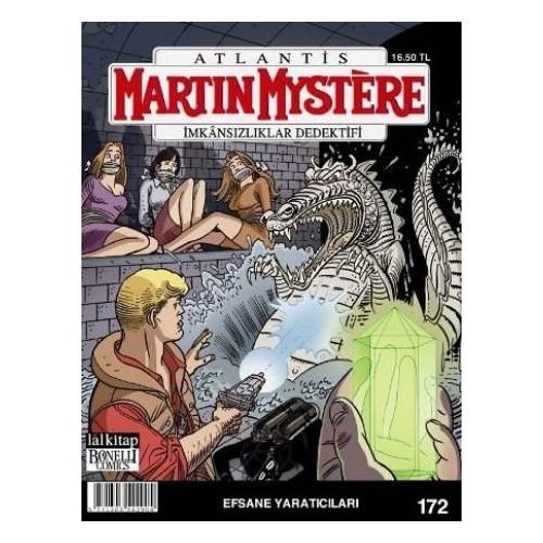 Martin Mystere İmkansızlıklar Dedektifi Sayı 172: Efsane Yaratıcısı-Marco Belli