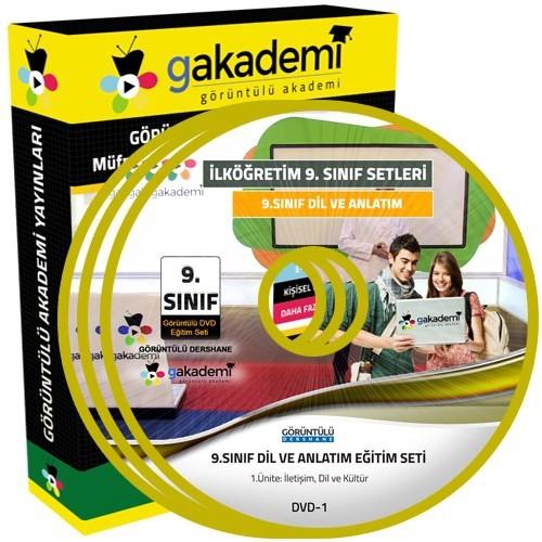 Görüntülü Akademi 9. Sınıf Dil Ve Anlatım Görüntülü Eğitim Seti (10 Dvd)