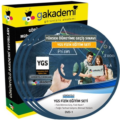 Görüntülü Akademi Ygs Fizik Konu Anlatımı Ve Soru Çözümlü Görüntülü Eğitim Seti 13 Dvd