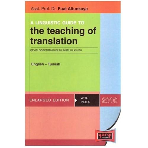 Yargı The Teaching Of Translation English-Turkish