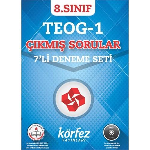 Körfez Yayınları 8.Sınıf Teog Sınavı Çözüm Dvd' Li 6 Deneme 1. Dönem (1. Ve 2. Grup)