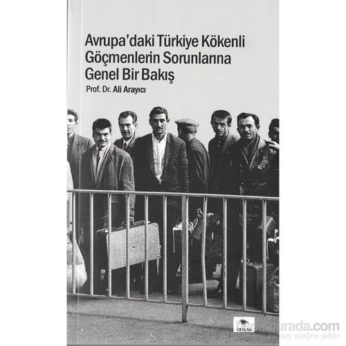 Avrupa'Daki Türkiye Kökenli Göçmenlerin Sorunlarına Genel Bir Bakış-Ali Arayacı