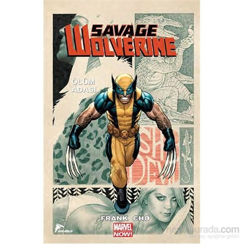 Savagewolverine 1 Ölüm Adası-Frank Cho