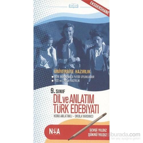 Nesa 9. Sınıf Dil ve Anlatım Türk Edebiyatı (cep boy)