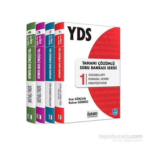 İrem YDS Tamamı Çözümlü Soru Bankası 4.Kitap Serisi - Suat Gürcan