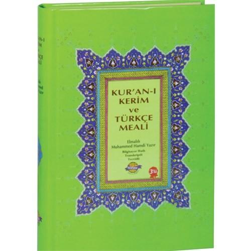 Kur'An-I Kerim Bilgisayar Hatlı Arapça Türkçe Okunuşu Ve Meali (Üçlü Meal Cami Boy)