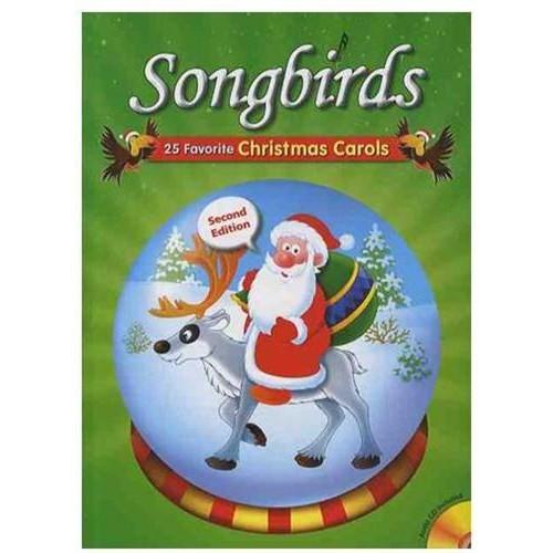 Songbirds 25 Favorite Christmas Carols-Action & Games & Activities (Kitap+CD)