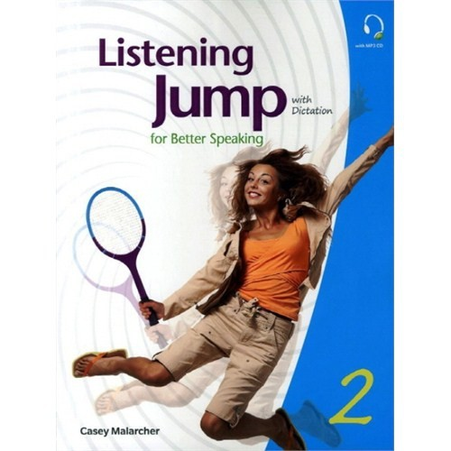 Listening Jump for Beter Speaking 2 with Dictation +MP3 CD - Casey Malarcher