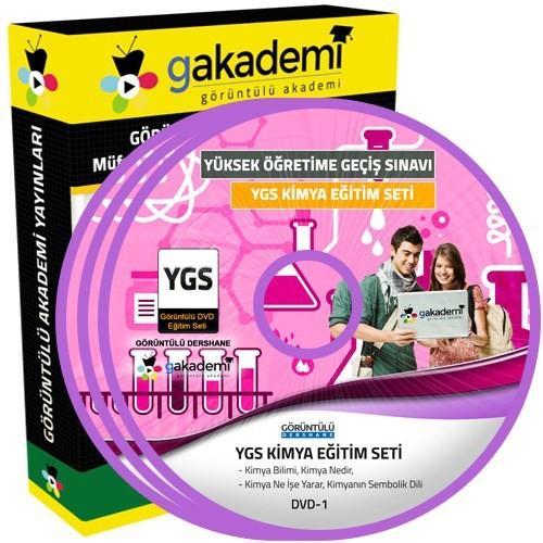 Görüntülü Akademi Ygs Kimya Konu Anlatımı Ve Soru Çözümlü Görüntülü Eğitim Seti 10 Dvd