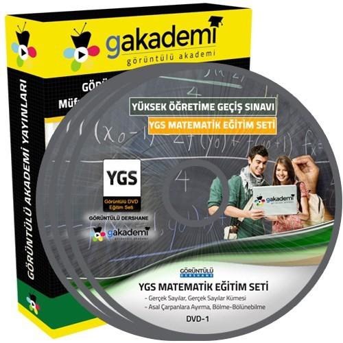 Görüntülü Akademi Ygs Matematik Konu Anlatımı Ve Soru Çözümlü Görüntülü Eğitim Seti 17 Dvd